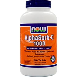 Now AlphaSorb-C 1000 240 tabs