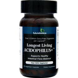 Futurebiotics Longest Living Acidophilus Plus 100 vcaps