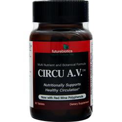 FUTUREBIOTICS Circu A.V. Best by 1/15 90 tabs