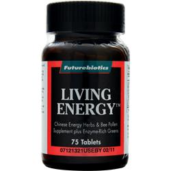 FUTUREBIOTICS Living Energy 75 tabs