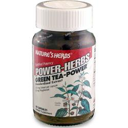NATURE'S HERBS Green Tea - Power 60 caps
