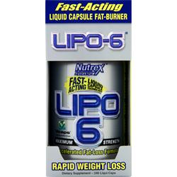 NUTREX RESEARCH Lipo-6 240 caps