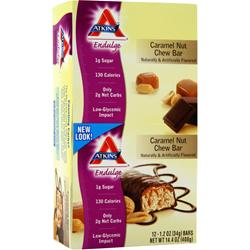 ATKINS Endulge Bar Caramel Nut Chew 12 bar