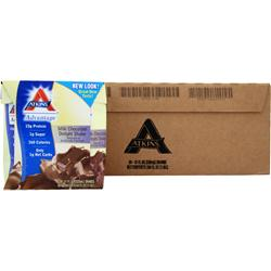 ATKINS Advantage Shake - Ready To Drink (Tetra-Can) Milk Chocolate Delight 24 cans