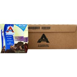 ATKINS Advantage Shake - Ready To Drink (Tetra-Can) Dark Chocolate Royale 24 cans