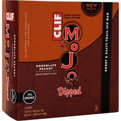 Clif Bar Mojo Dipped Bar Chocolate Peanut 12 bars