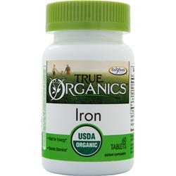 Enzymatic Therapy True Organics Iron 60 tabs