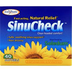 ENZYMATIC THERAPY SinuCheck 40 sgels