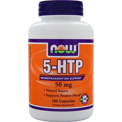 NOW 5-HTP (50mg) 180 caps