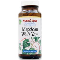 NATURE'S HERBS Mexican Wild Yam 100 caps