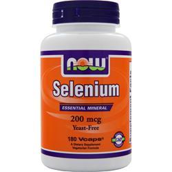 Now Selenium (200mcg) 180 vcaps