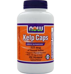 NOW Kelp Caps (325mcg) 250 vcaps