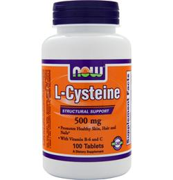 NOW L-Cysteine (500mg) 100 tabs