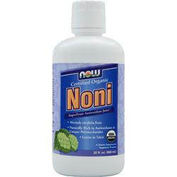 NOW Noni Liquid Raspberry 32 fl.oz