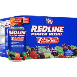 VPX SPORTS Redline - Power Rush Exotic Fruit 12 bttls