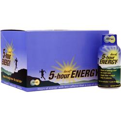 5 HOUR ENERGY 5-Hour Energy - Decaf Citrus 12 bttls