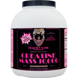 HEALTHY N FIT Creatine Mass 10,000 Heavenly Chocolate 5 lbs