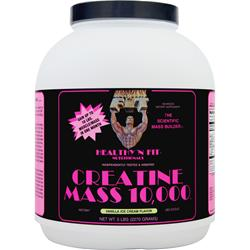 HEALTHY N FIT Creatine Mass 10,000 Vanilla Ice Cream 5 lbs
