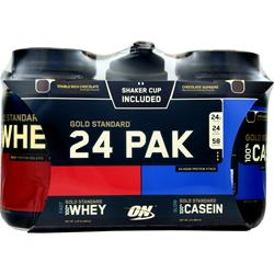 OPTIMUM NUTRITION 24 Hour Pak Chocolate Variety 1 kit