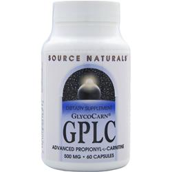 SOURCE NATURALS GPLC (500mg) 60 caps