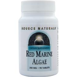 SOURCE NATURALS Red Marine Algae (350mg) 90 tabs
