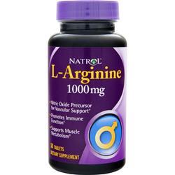 Natrol L-Arginine (1000mg) 50 tabs