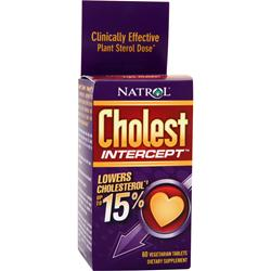 Natrol Cholest Intercept 60 tabs