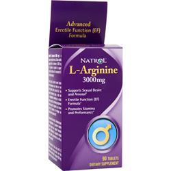 Natrol L-Arginine (3000mg) 90 tabs