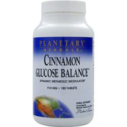 PLANETARY FORMULAS Cinnamon Glucose Balance 180 tabs