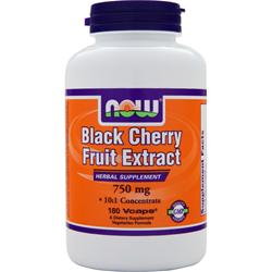 NOW Black Cherry Fruit Extract (750mg) 180 vcaps