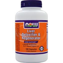 NOW Liver Detoxifier & Regenerator 180 caps