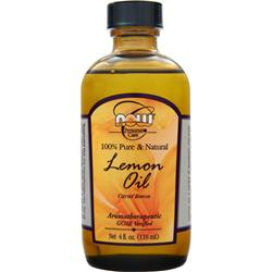 NOW Lemon Oil (100% Pure & Natural) Citrus Limon 4 fl.oz