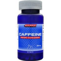 ALLMAX NUTRITION Caffeine 100 tabs