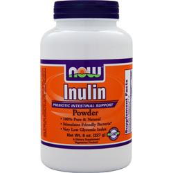NOW Inulin Powder 8 oz