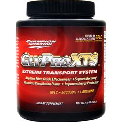 CHAMPION NUTRITION GlyPro XTS 4.3 oz