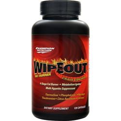 CHAMPION NUTRITION Wipe Out Fat Burner Crave Control 120 caps