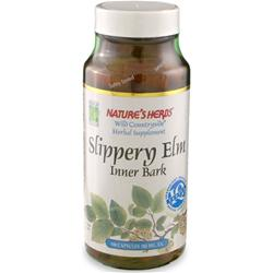 NATURE'S HERBS Slippery Elm Bark 100 caps
