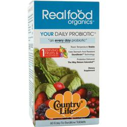COUNTRY LIFE Your Daily Probiotic 60 tabs