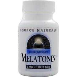 SOURCE NATURALS Melatonin (5mg) 120 tabs