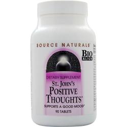 SOURCE NATURALS St. John's Positive Thoughts 90 tabs