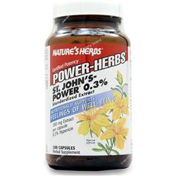 NATURE'S HERBS St John's - Power 0.3% Hypericine (300mg) 0.3% 180 caps