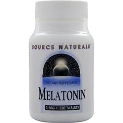 SOURCE NATURALS Melatonin (3mg) 120 tabs
