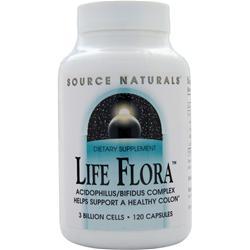 SOURCE NATURALS Life Flora 120 caps