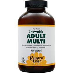 COUNTRY LIFE Chewable Adult Multi 120 wafrs