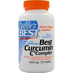 DOCTOR'S BEST Best Curcumin with BioPerine 120 tabs