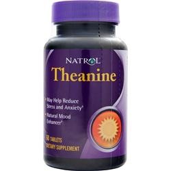 NATROL Theanine 60 tabs