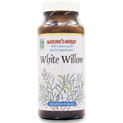 NATURE'S HERBS White Willow Bark 100 caps