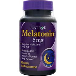 NATROL Melatonin (5mg) 60 tabs