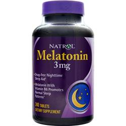 NATROL Melatonin (3mg) 240 tabs