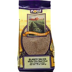 NOW Blanco Salvia White Chia Seed Meal 10 oz